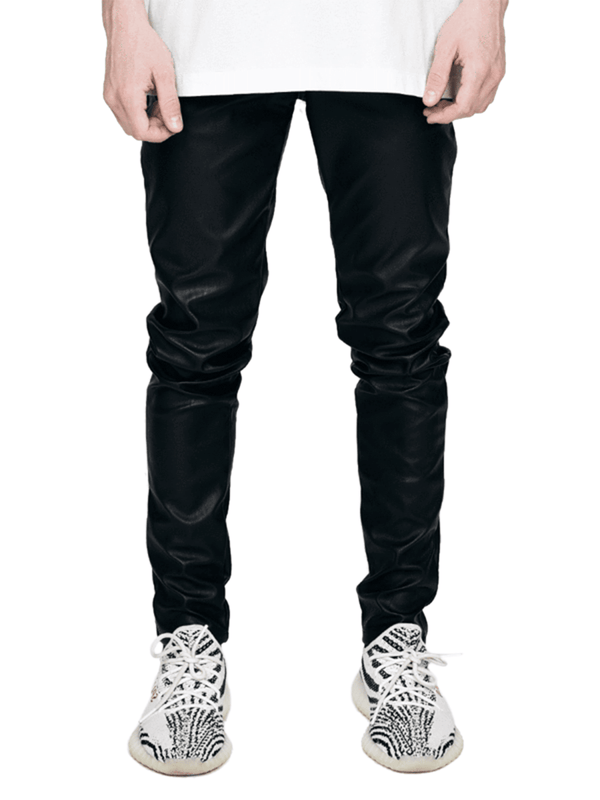 Leather Skinny Denim - Reputation Studios