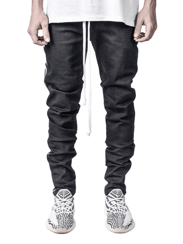 Lightning Bolt Denim - Black - Reputation Studios