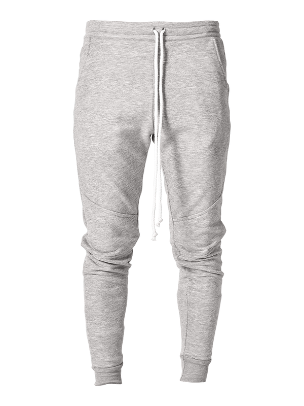 Cardinal Sweatpants - Heather Grey - lakenzie