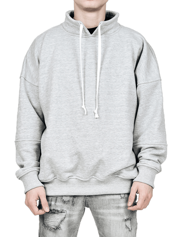 Collared Crew - Heather Grey - lakenzie