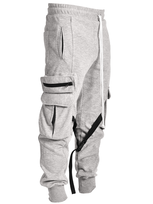 Cargo Sweatpants - Heather Grey - Reputation Studios