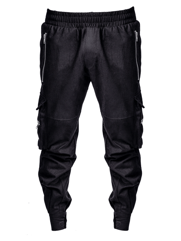 Military Pants - Black - Reputation Studios