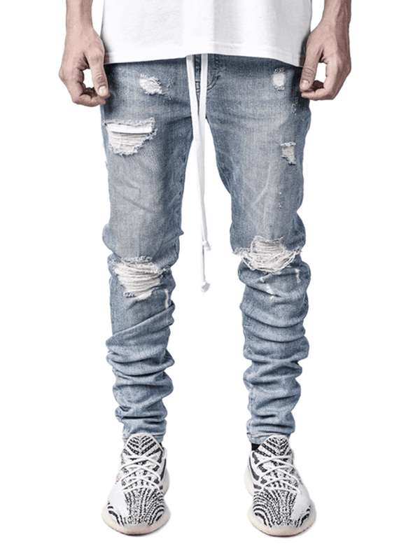 Lightning Bolt Denim - Light Stone - Reputation Studios