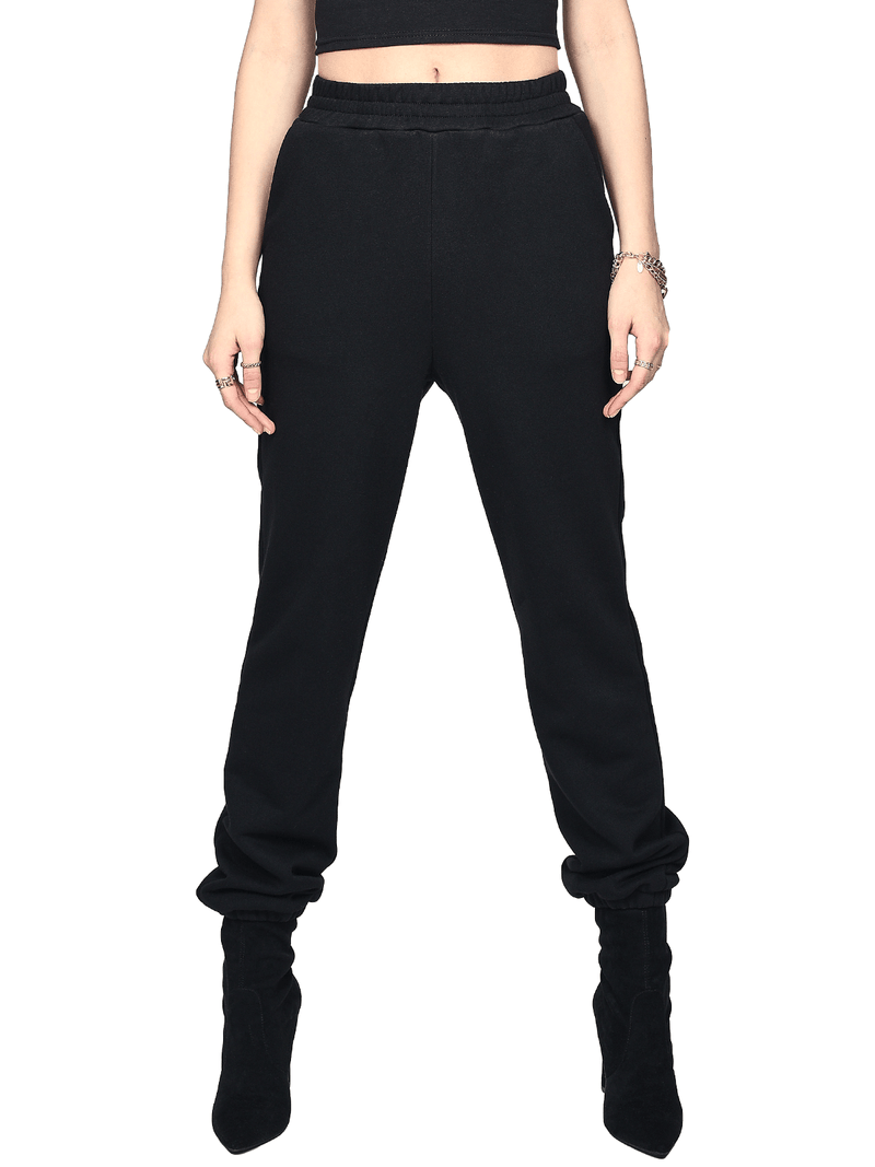 Womens Sweatpants - Black
