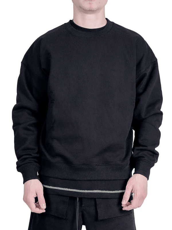 Crew Sweater - Black - lakenzie