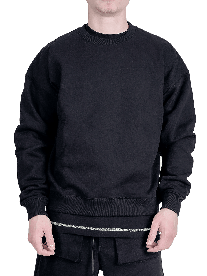 Crew Sweater - Black