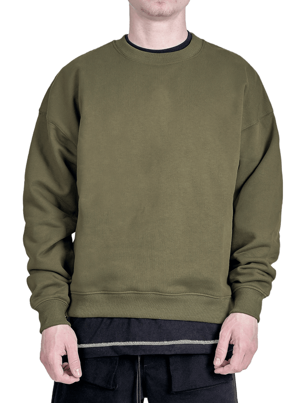 Crew Sweater - Forest - lakenzie