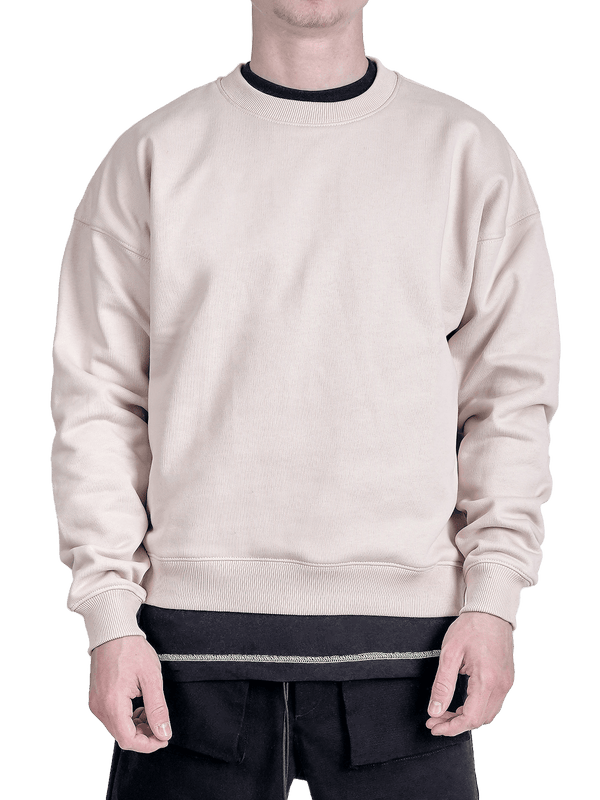 Crew Sweater - Sand - lakenzie