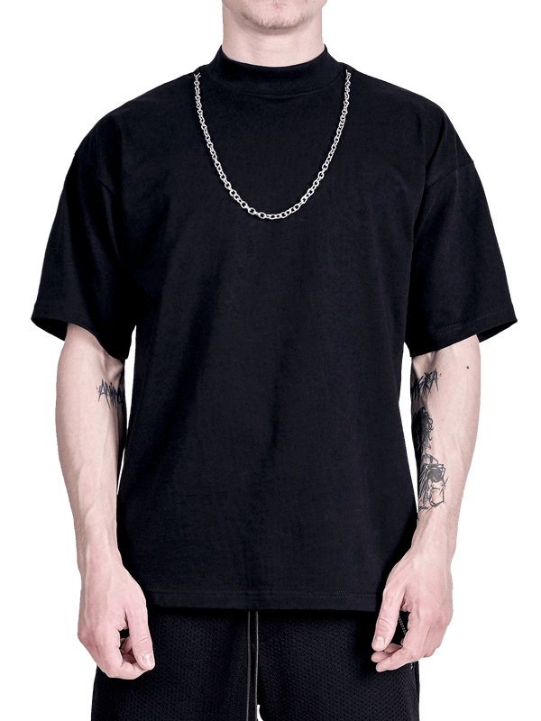 Chain Tee - Black - lakenzie