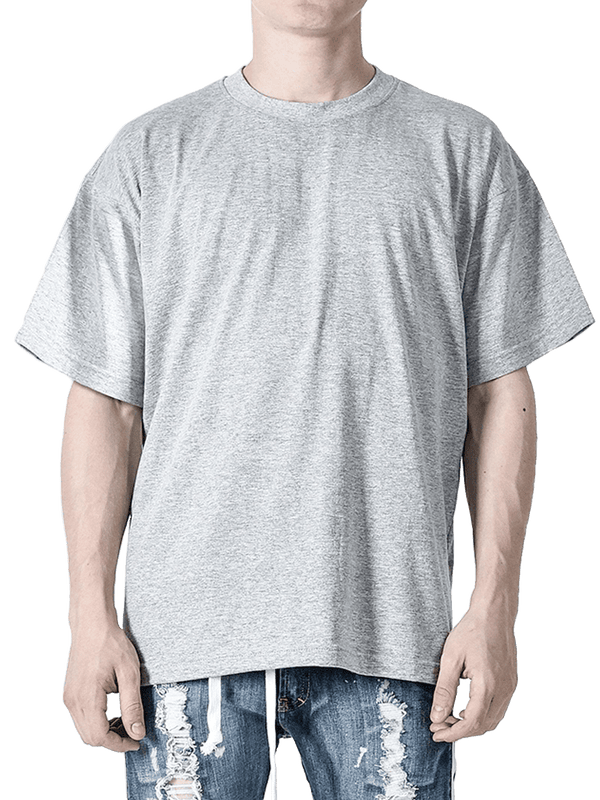 Grey Oversized Tee - lakenzie