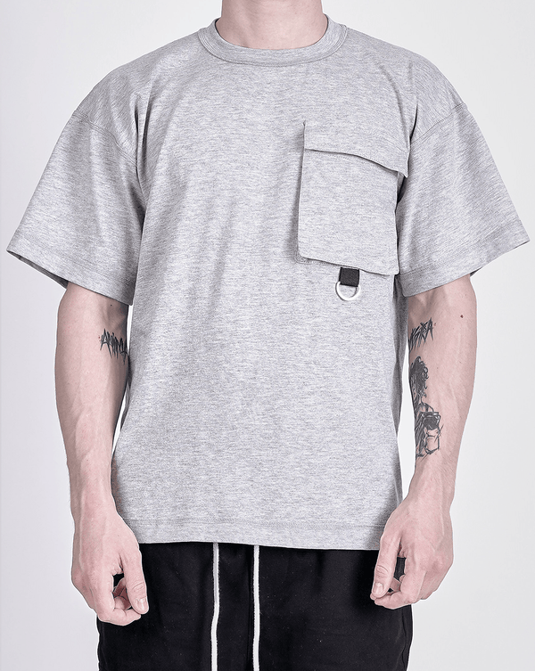 Utility Tee - Heather Grey