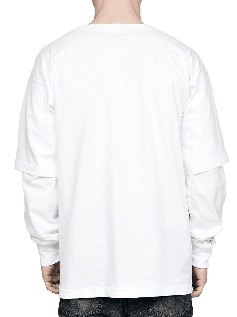 Layered Tee - White