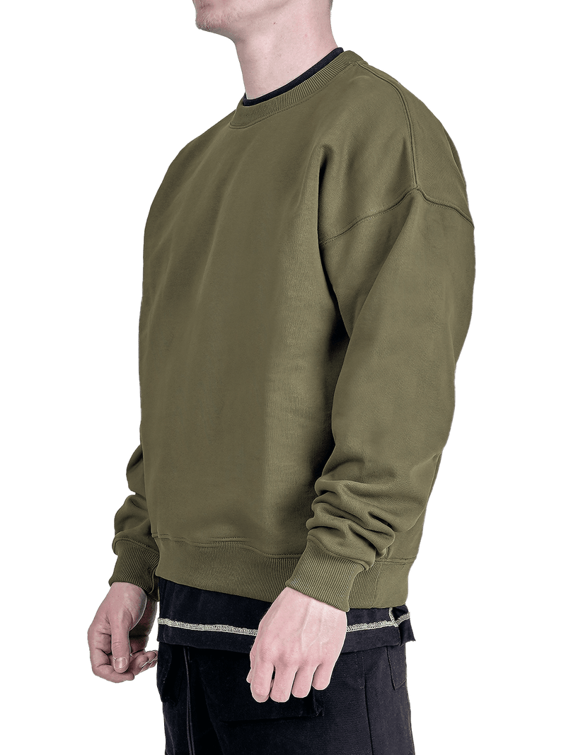 Crew Sweater - Forest