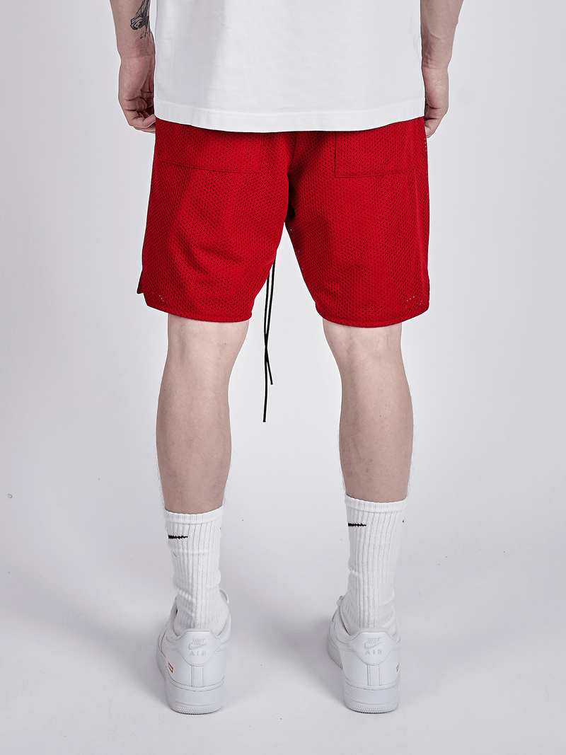 Mesh Shorts - Red