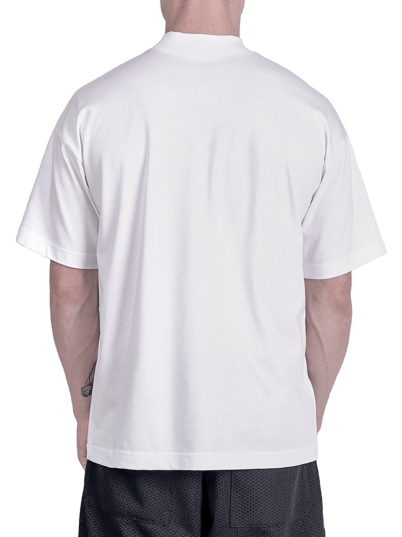Chain Tee - White - lakenzie