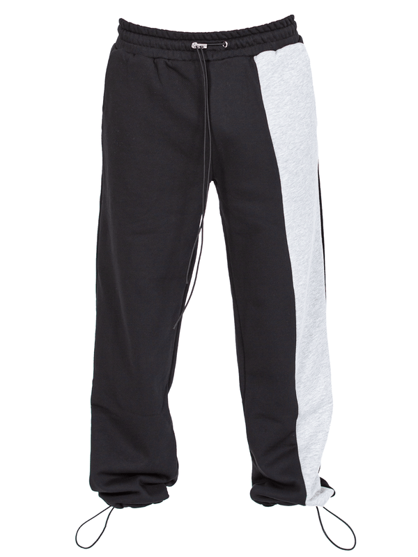 Half / Half Sweatpants - Black