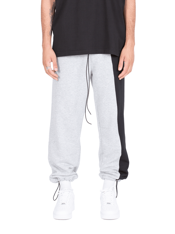 Half / Half Sweatpants - Heather Grey