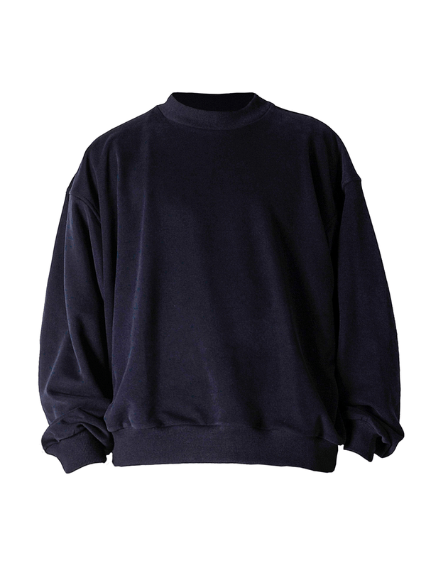 Oversized Sweater - Navy - lakenzie