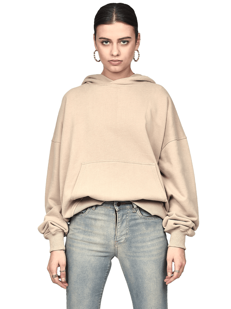 Oversized Hoodie - Sand