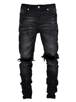 Painters Denim - Black - Reputation Studios