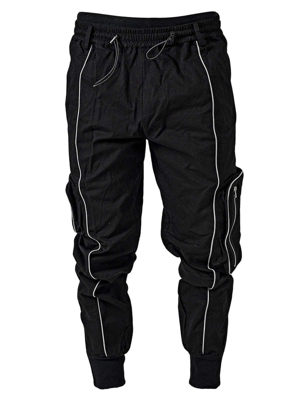 Reflective Pants - Black - Reputation Studios
