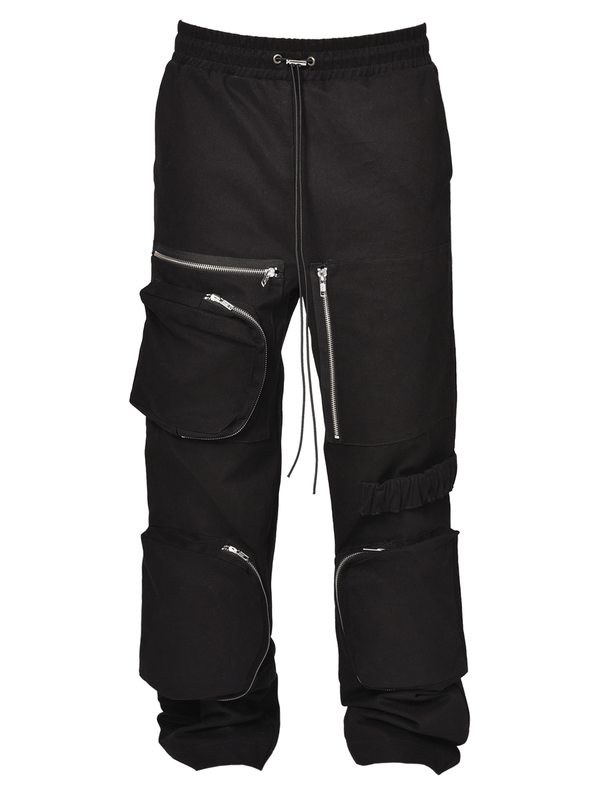 Retro Work Pants - Black