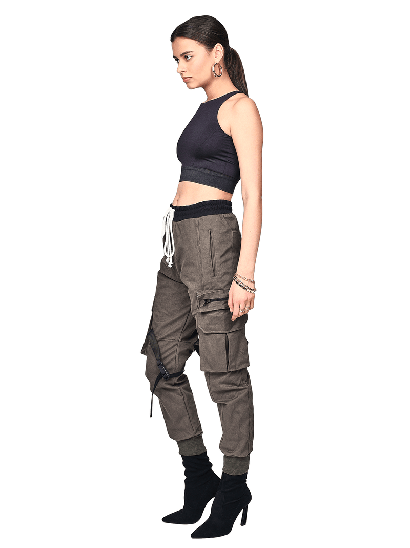 Cargo Pants - Forest - lakenzie