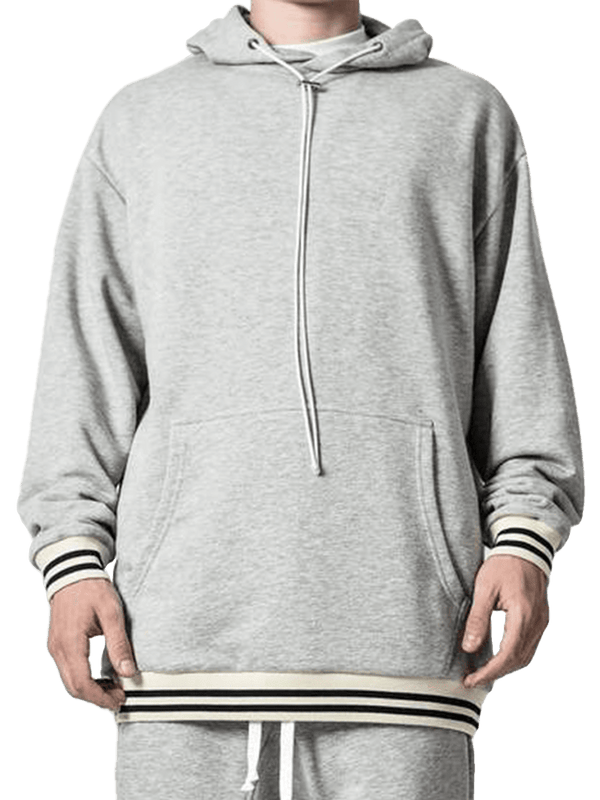 Cardinal Hoodie - Heather Grey