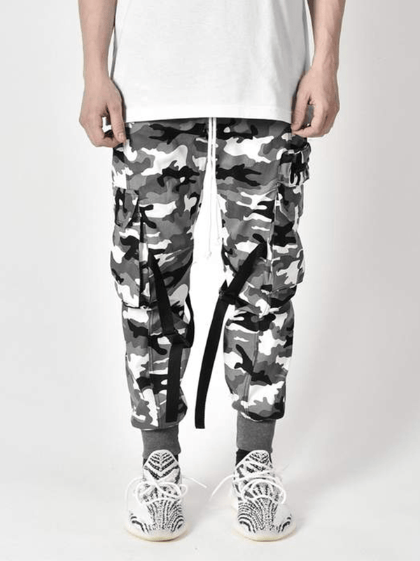 Cargo Pants - Snow Camo - lakenzie