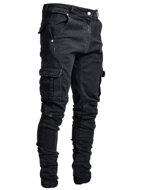 Cargo Denim - Black