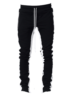 Drawstring Trackpants V2.0 - Black/White