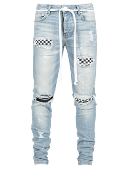 Checkered Denim - Reputation Studios