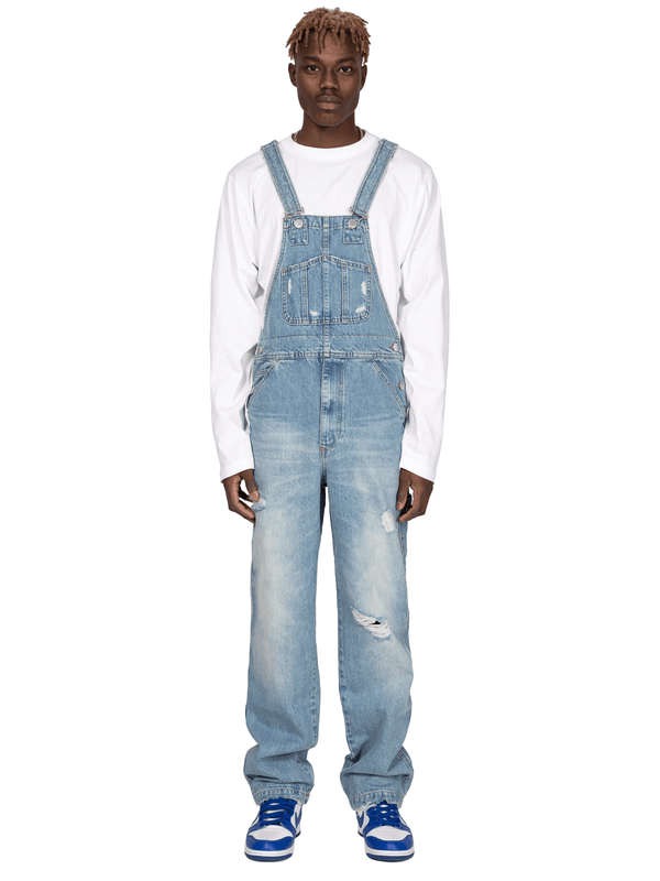 Denim Overalls - Light Wash