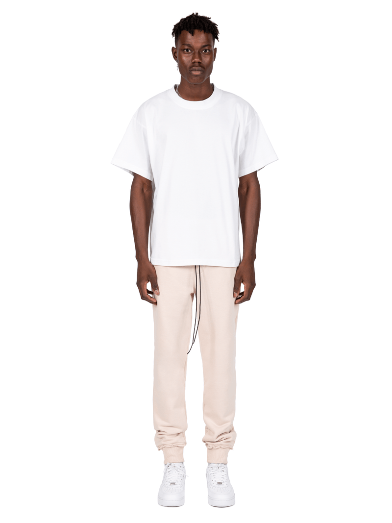 Distressed Sweatpants - Sand
