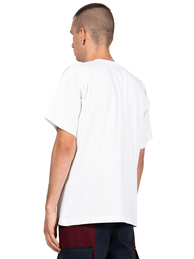 Double Pocket Tee - White