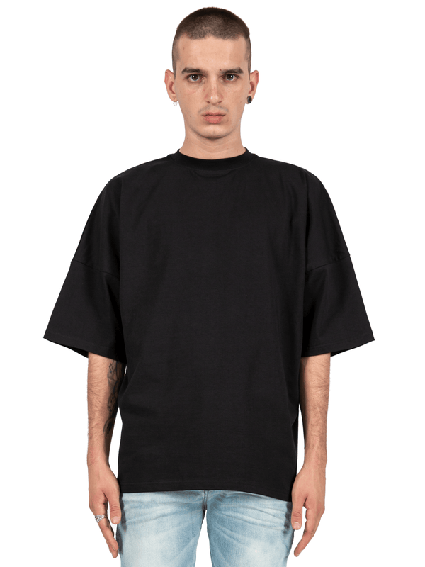 Drop Shoulder Tee - Black