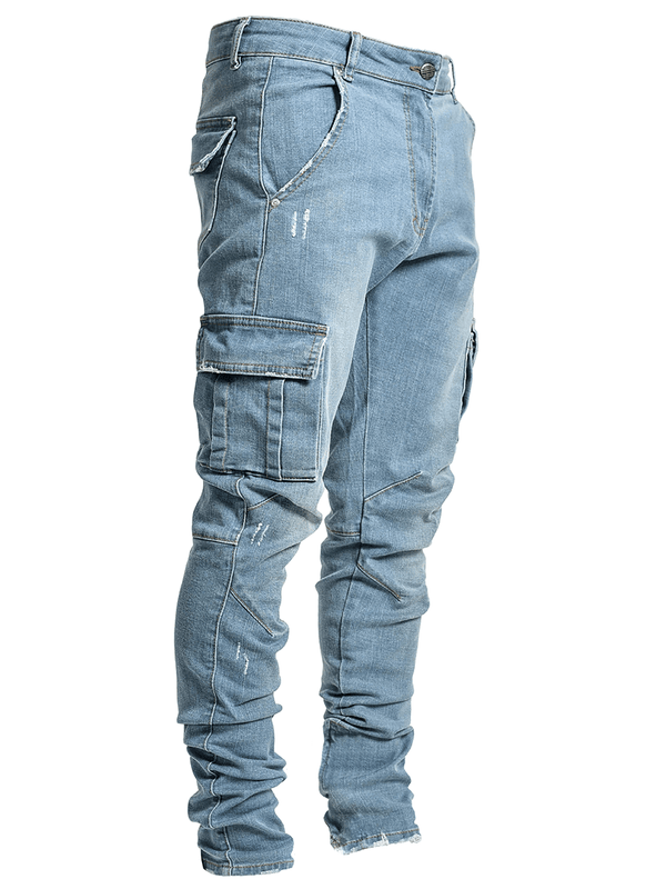 Cargo Denim - Light Stone - Reputation Studios