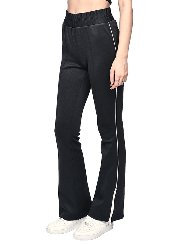 Flare Pants - Black - lakenzie