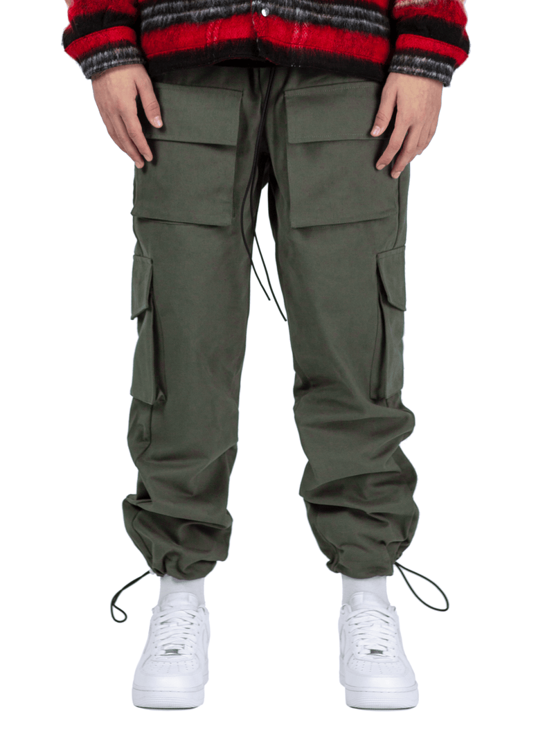 Front Pocket Cargo Pants - Forest