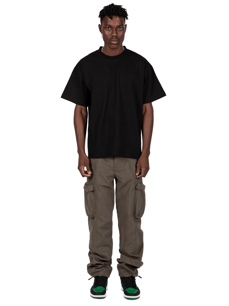 Forest Colored Acro Cargo Pants From Full Front