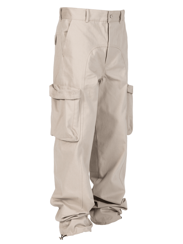 Sand Colored Acro Cargo Pants