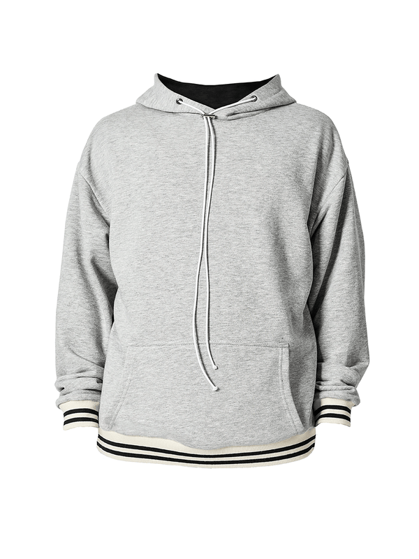 Cardinal Hoodie - Heather Grey - lakenzie