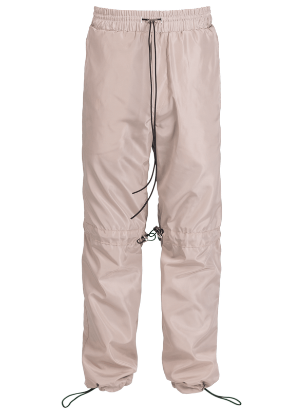 Nylon Pants - Beige