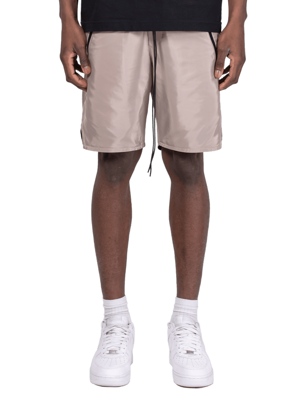 Nylon Shorts - Beige