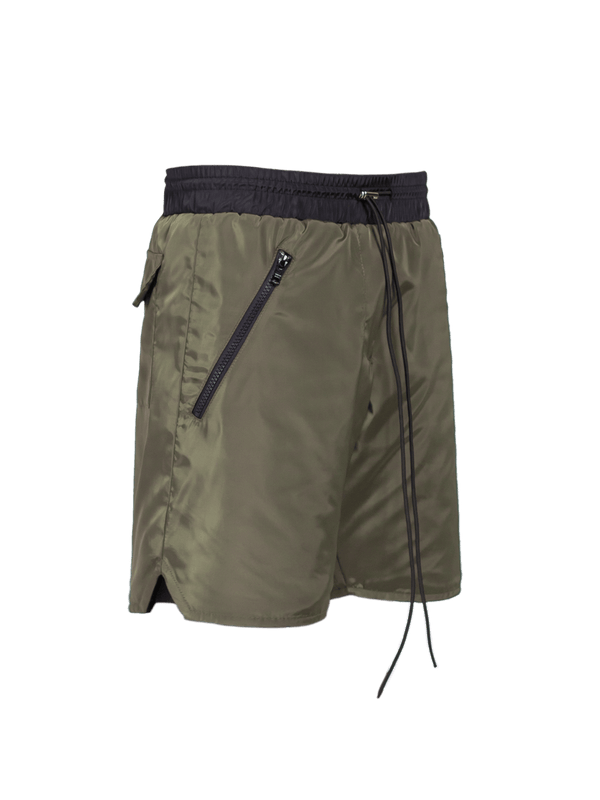 Nylon Shorts - Forest