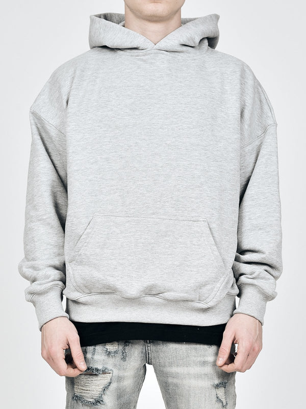 Oversized Hoodie - Heather Grey