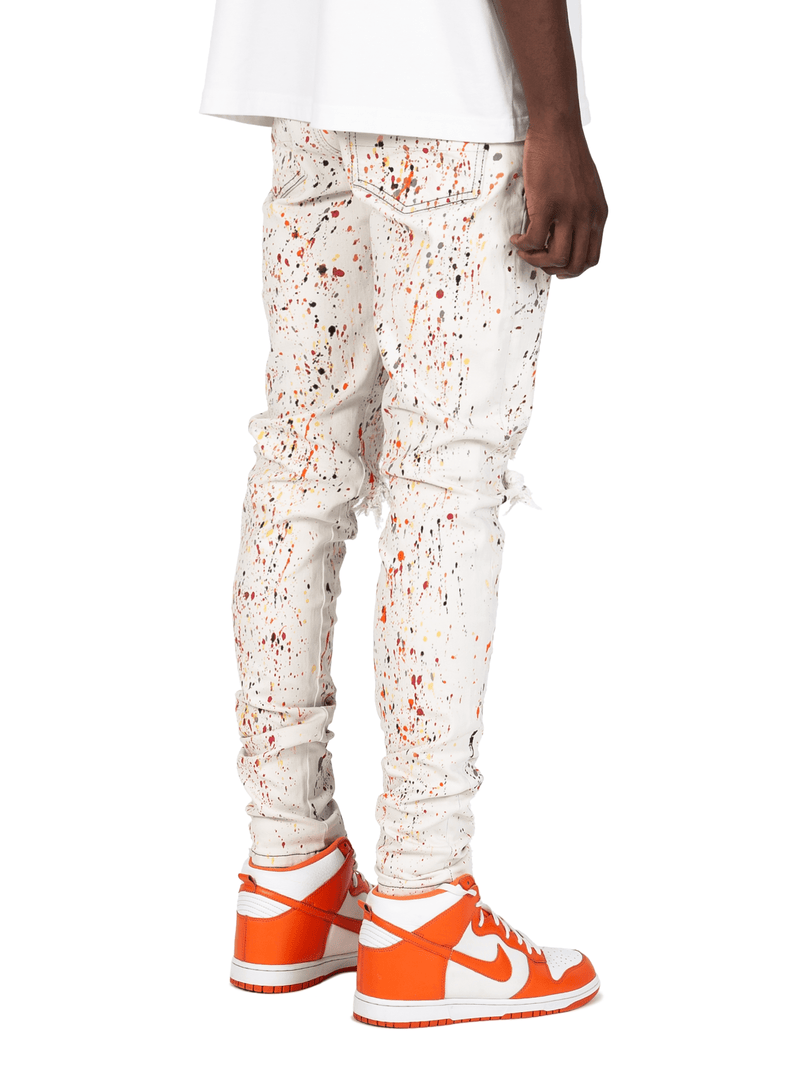 Painters Denim - White