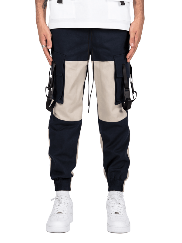 Tech Cargo Pants  - Navy
