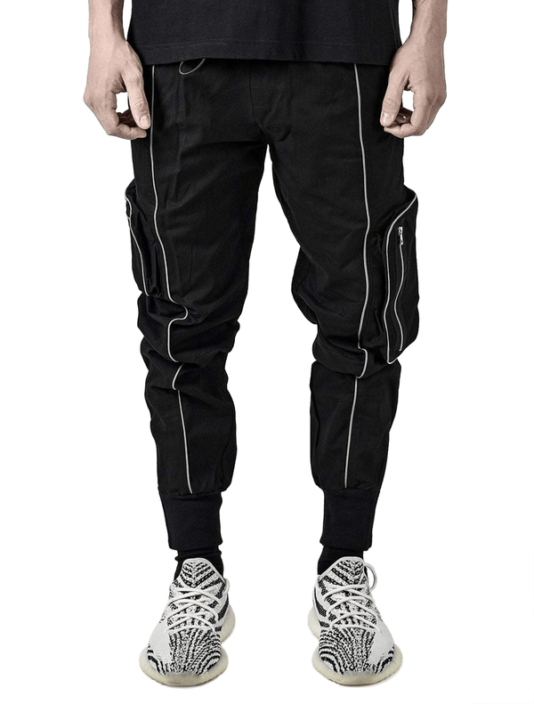Reflective Pants - Black - lakenzie