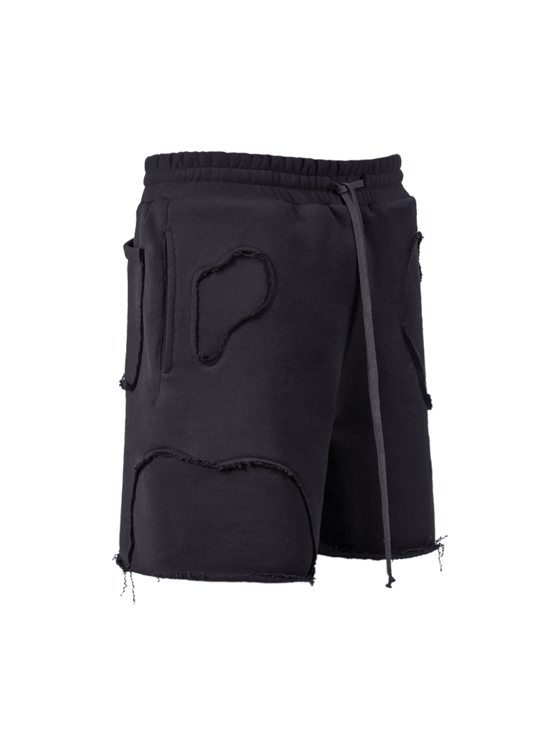 Repaired Shorts - Black
